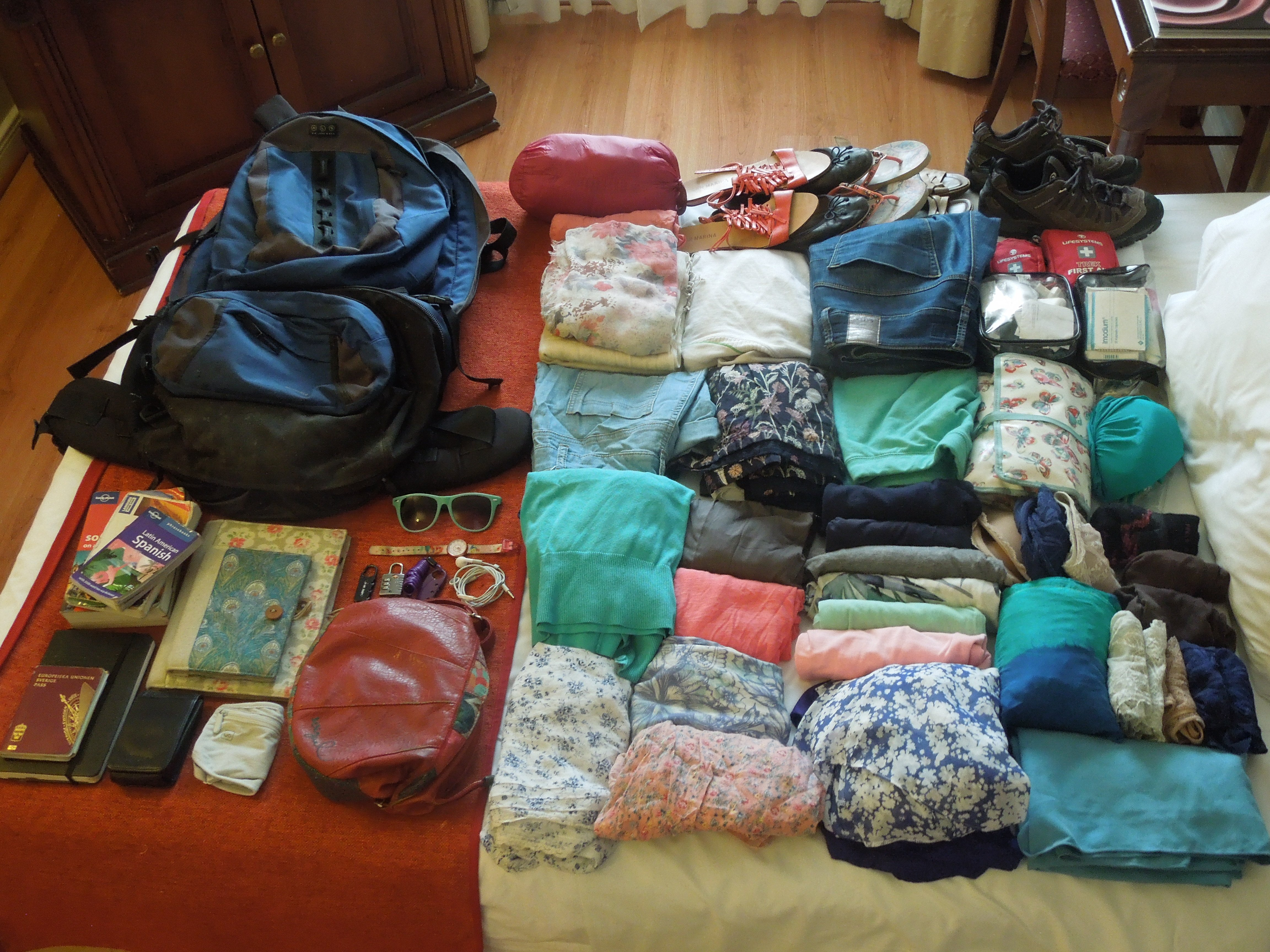 c017bd459 Packing list for three months in South America: what to bring and ...