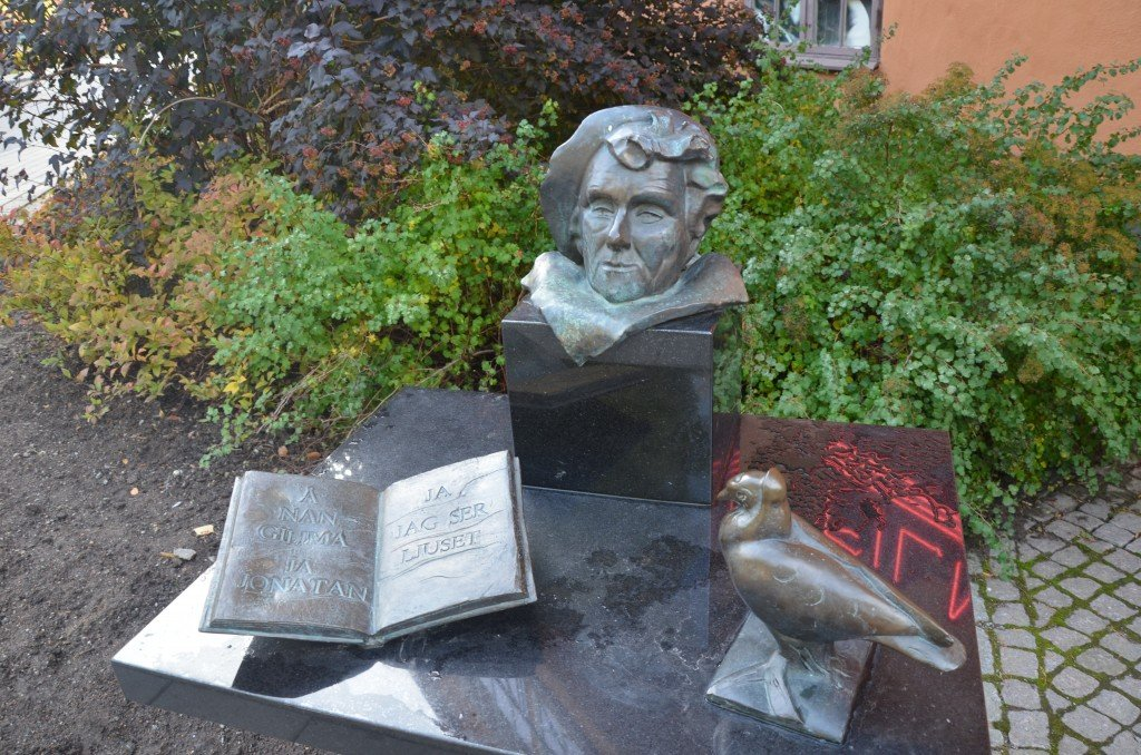 Dedication to Astrid Lindgren in Filmstaden, Solna