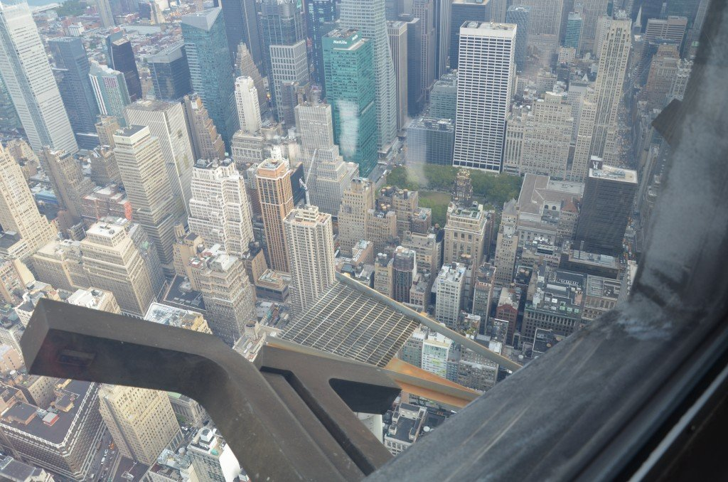The view from the 102nd floor of the Empire State Building, New York