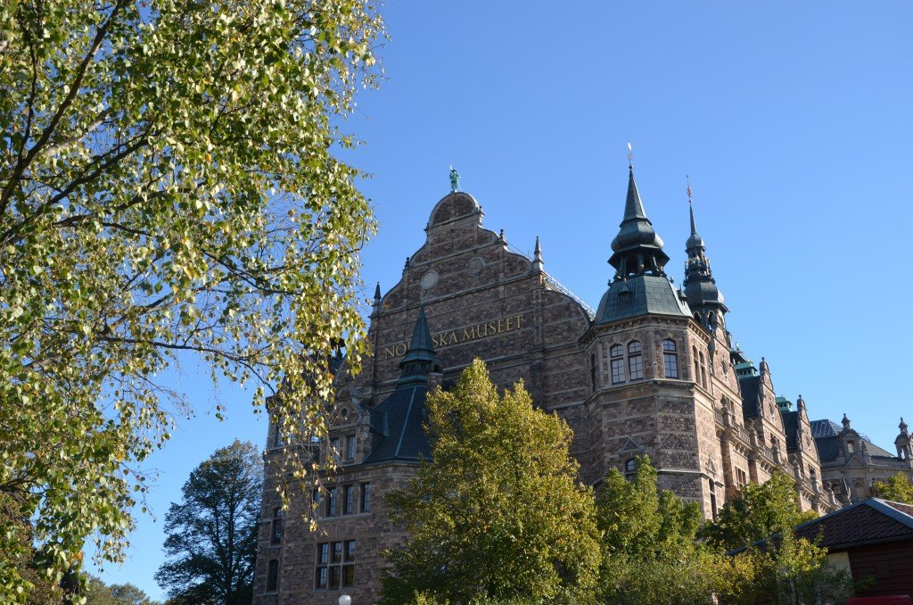 The Nordic Museum, completed in 1907, is intended to preserve Sweden's cultural history from the 1500s right up to the present day