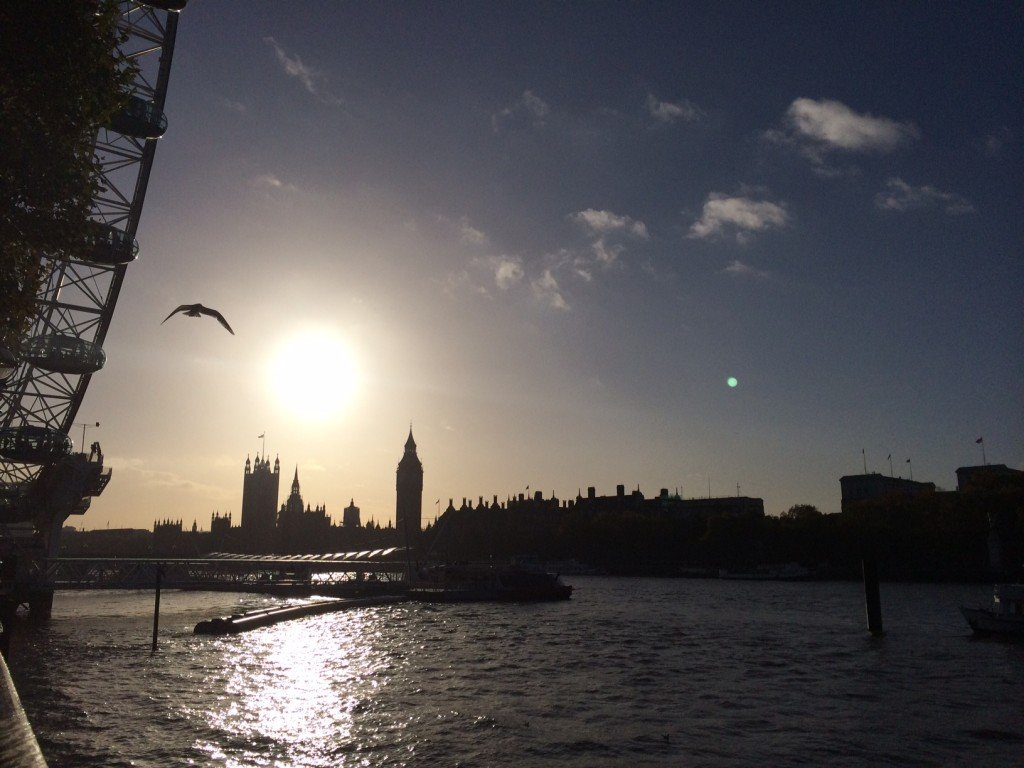 A November afternoon in London