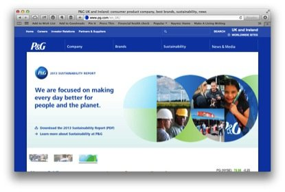 procter-and-gamble-website