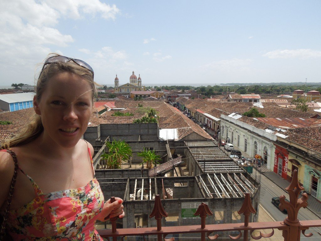 View from the Iglesia de La Merced bell tower