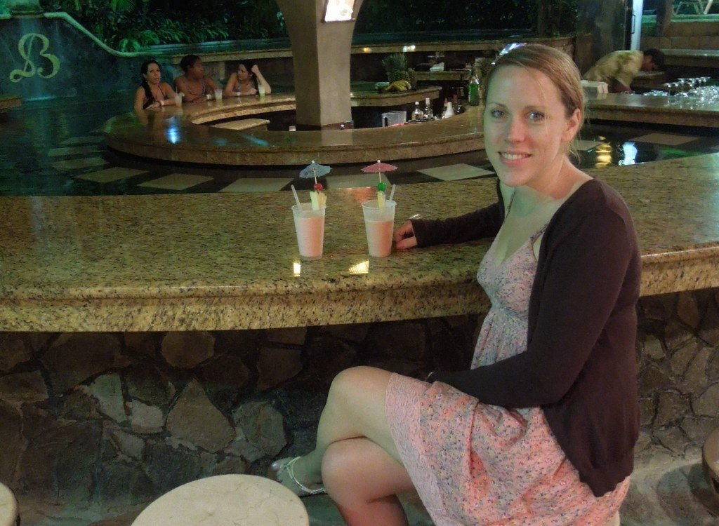 Cocktails at Baldi Hot Springs