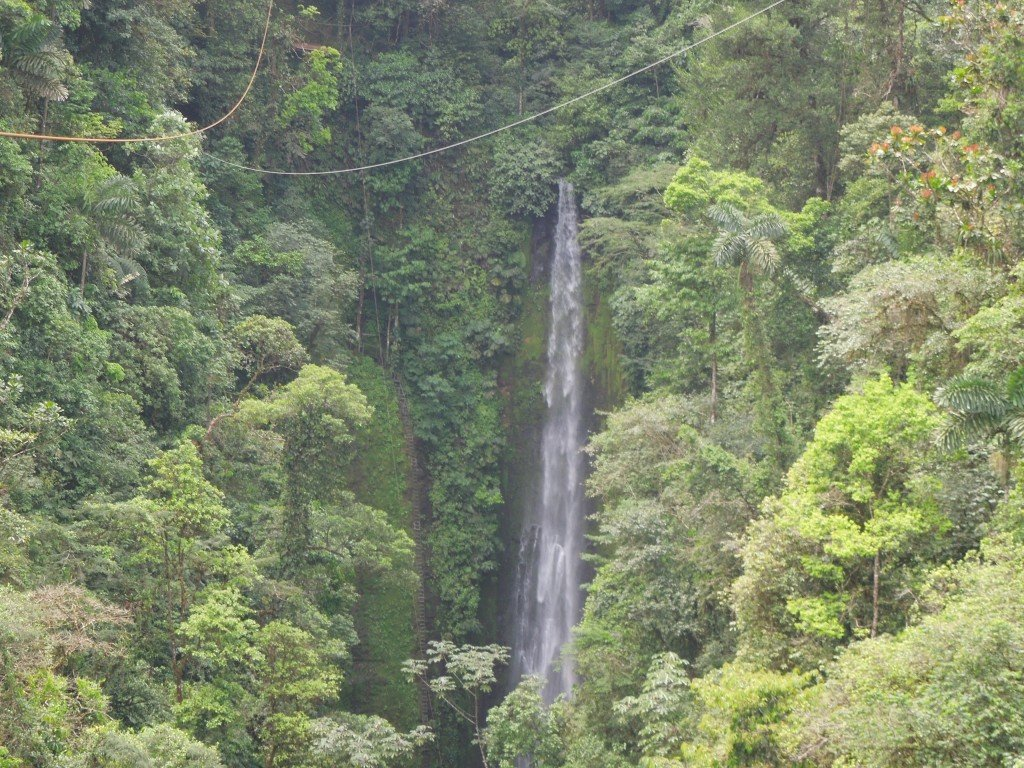 Waterfall in La Fortuna