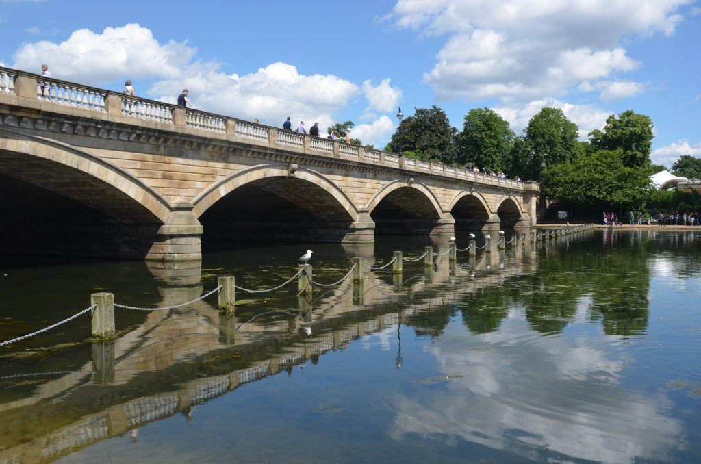 The Serpentine Bridge, Hyde Park