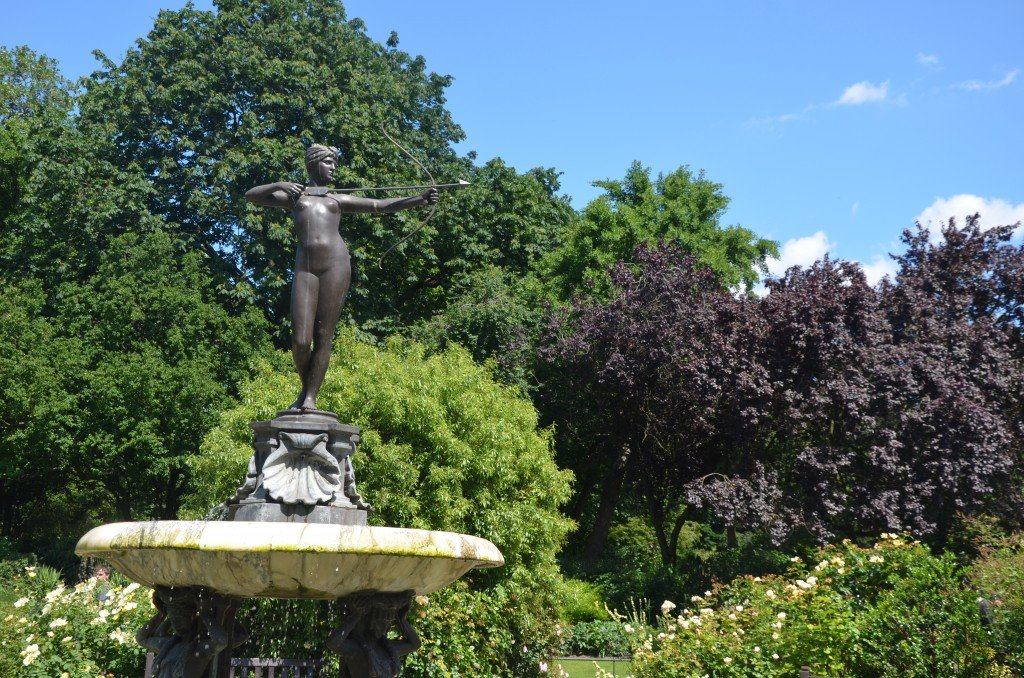 The Huntress statue, Hyde Park