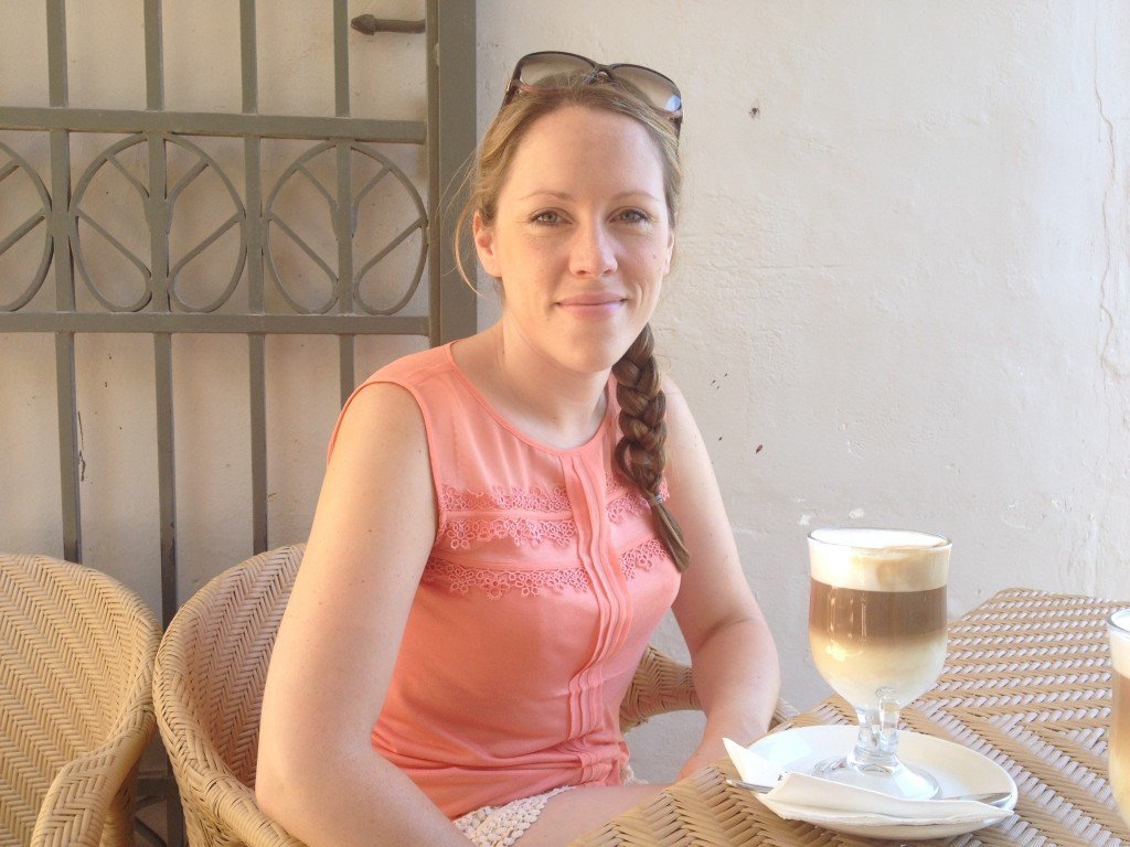 Having coffee in Mdina
