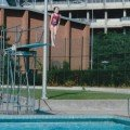 Jumping from the diving board