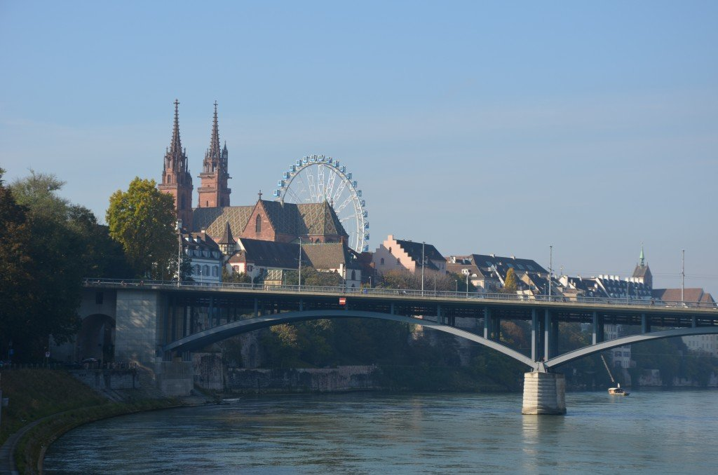 View across the Rhein, Basel