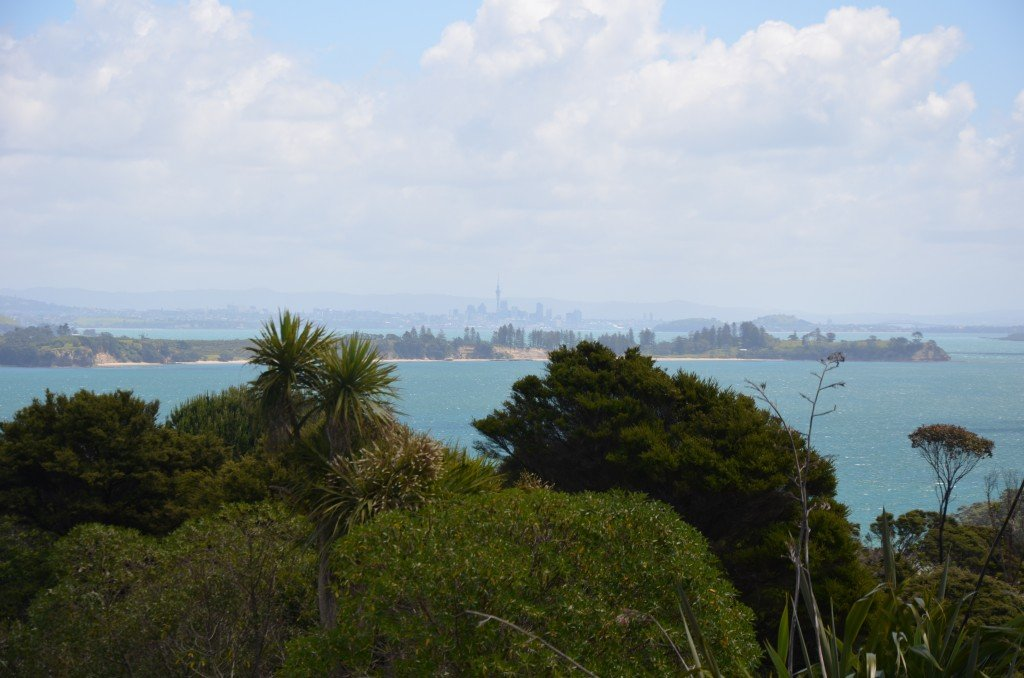 View from Waiheke Island