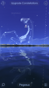 Screenshot of Star Walk 2 app