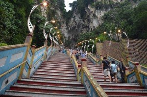 Batu Caves steps