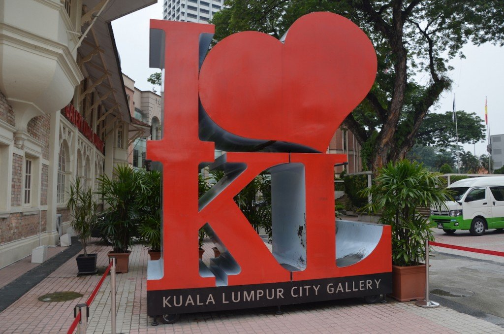 I heart KL sign