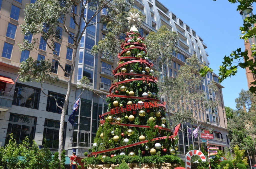 Melbourne Christmas tree