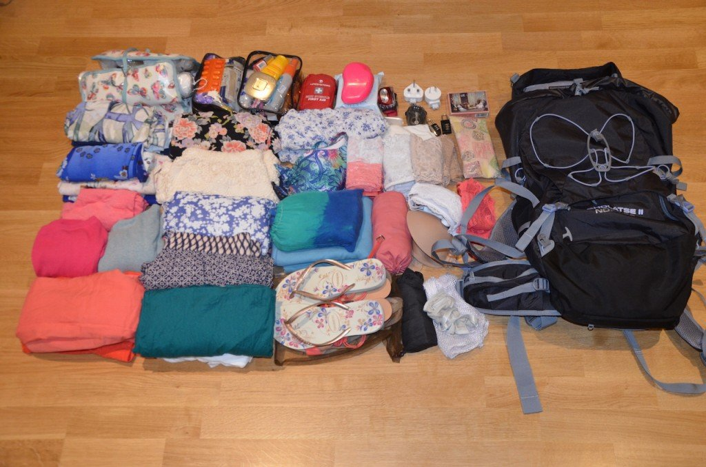 Packing for Asia