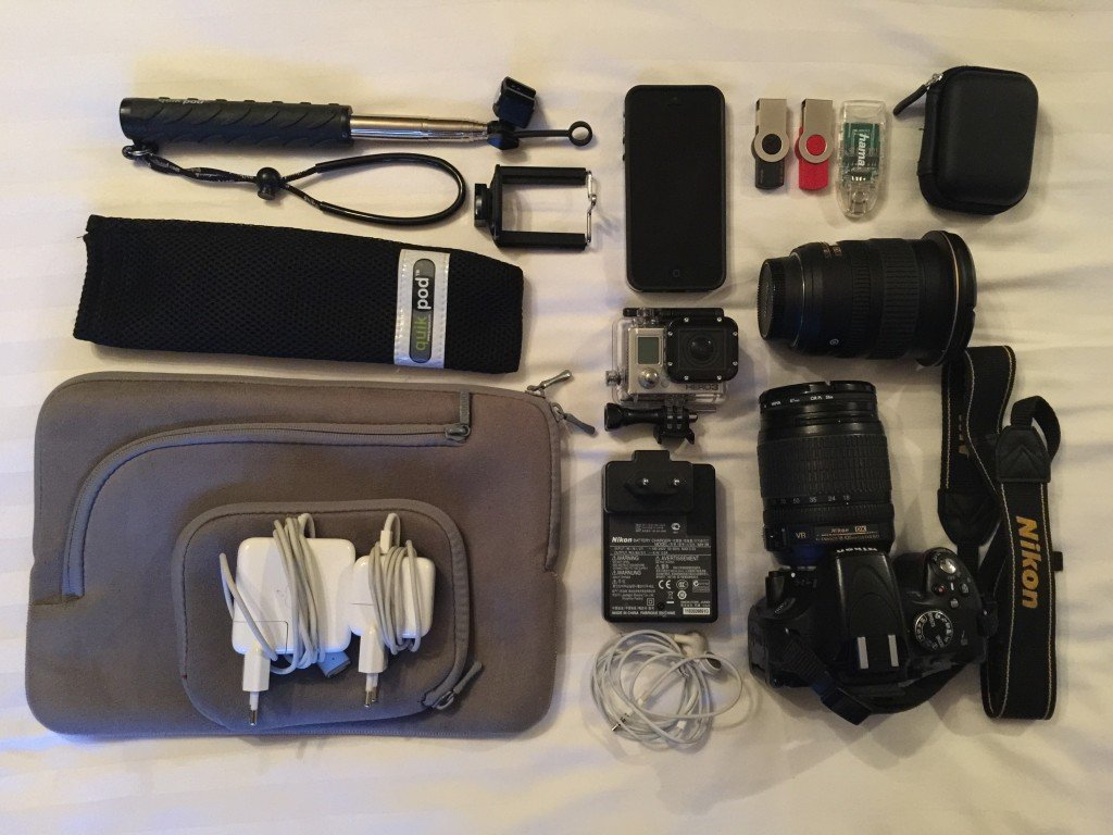 Travel gadgets for digital nomads