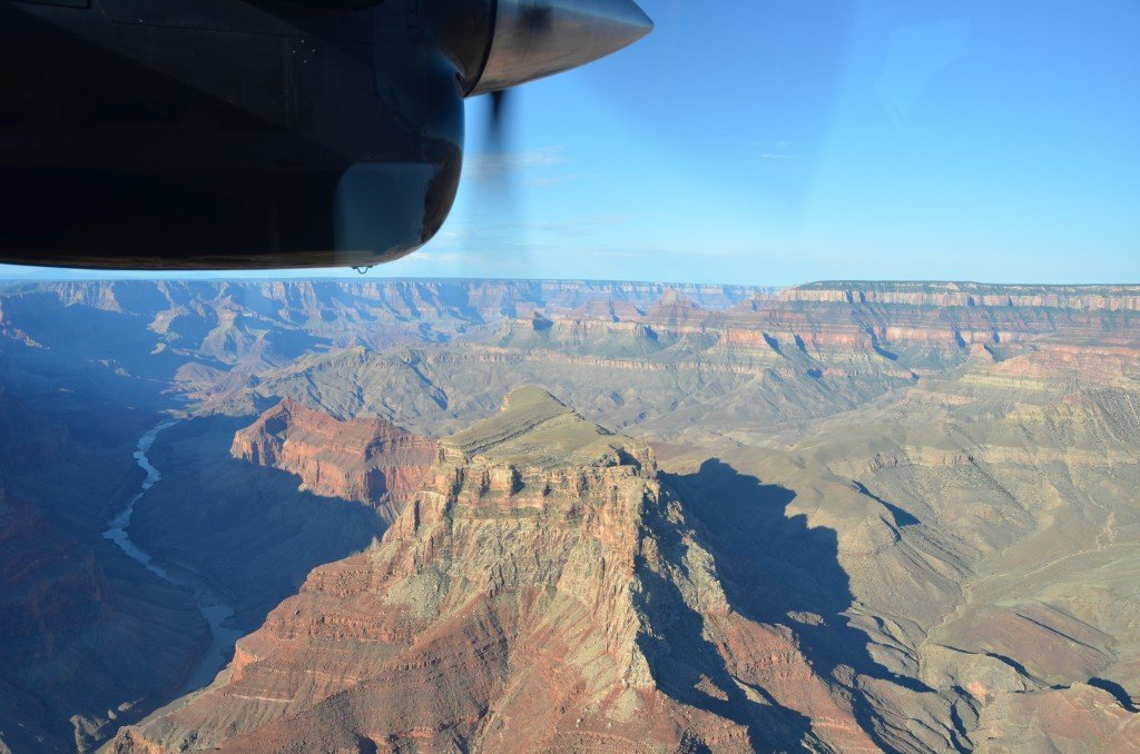 Grand Canyon from the plane