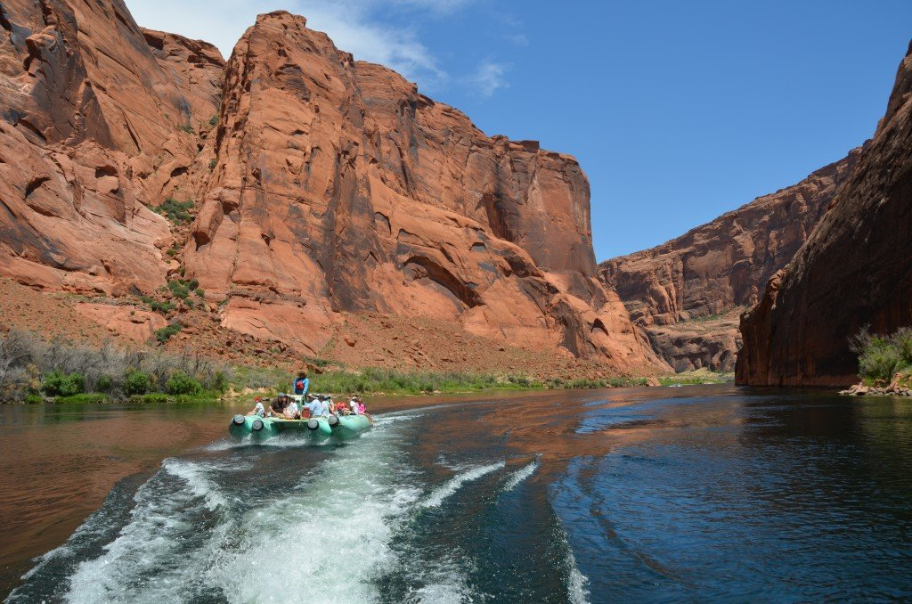 Grand Canyon smooth water rafting
