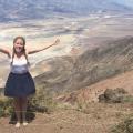 Anna Lundberg in Death Valley