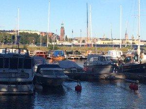Stockholm from Smedsuddsvägen