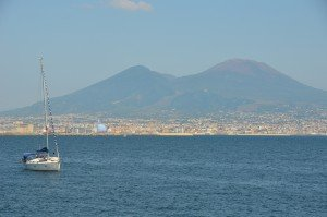 Vesuvius from Naples