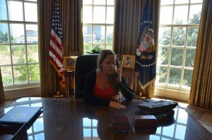Anna in the Oval Office