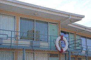 Lorraine Motel balcony
