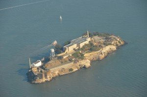 Alcatraz from above