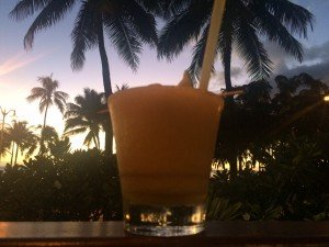 Cocktail in Waikiki
