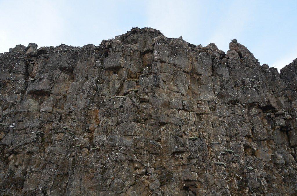 Rocky wall