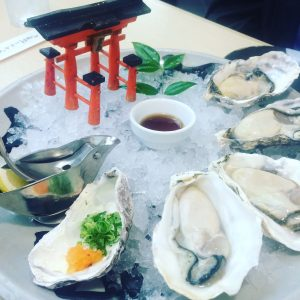 Oysters in Miyajima