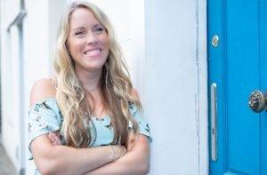 Anna Lundberg blue door