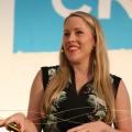 picture of Anna Lundberg speaking